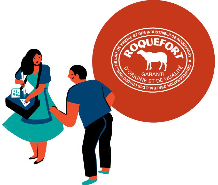 Roquefort en fête Confédération générale des producteurs de lait de brebis