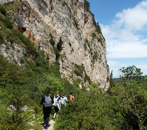 Roquefort en fête programme festival randonnée lecture de paysage
